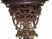 Antique Burmese Work Box - Desk Writing Table 1890 Hardwood (12 of 13)