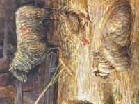 "Watercolour ""Tending The Sheep"" By Bertha Rhodes RA Rca Exh 1905 -1912 (21 of 41)"