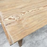 Large Farmhouse Pine Kitchen Table (9 of 9)