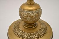 Antique Solid Brass Floor Lamp (4 of 9)