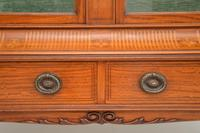 Antique Victorian  Satinwood  Display Cabinet (9 of 13)
