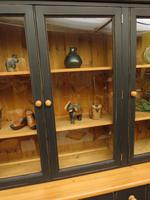 Black Painted Pine Apothecary Cabinet Style Dresser with Multi Drawer Base (5 of 18)
