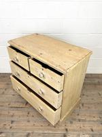 Rustic Antique Pine Chest of Drawers (8 of 10)