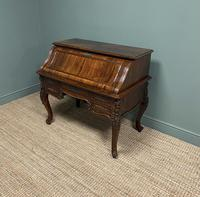 Outstanding Victorian Rococo Rosewood Antique Writing Desk (7 of 11)