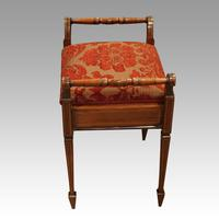 Edwardian inlaid piano stool (7 of 7)