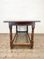 18th Century Antique Joined Oak Table (9 of 10)