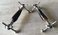 Pair of Victorian Silver Plated & Stag Horn Handle Knife Rests (7 of 7)