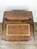 Victorian Walnut Davenport Desk (4 of 10)