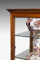 George III Style Mahogany China Cabinet (3 of 7)