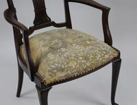 Antique Georgian Mahogany Armchair (4 of 8)