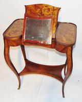 Louis XV Kingwood & Marquetry Poudreuse (14 of 15)
