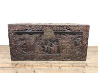 Carved Oriental Camphorwood Chest or Trunk (4 of 13)