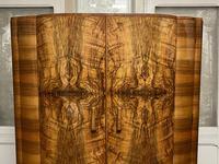 Burr Walnut Art Deco Double Wardrobe (5 of 12)
