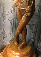 Italian Carved Hardwood Figure of a Boy (7 of 23)
