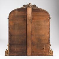 Large Victorian English Gilt Archtop Overmantle Mirror (7 of 7)