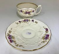 Victorian Moustache Cup & Saucer c.1892 (4 of 6)