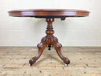 Victorian Mahogany Oval Tilt Top Table (11 of 12)