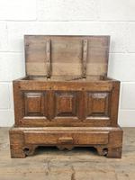 18th Century Style Welsh Oak Coffer Bach (10 of 12)