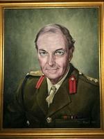 Fine 20th Century Portrait Oil Painting Military Officer British Army 2nd Signal Regiment (2 of 12)