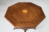Edwardian Octagonal Centre Table (7 of 11)