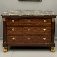 French Empire Commode with Gilt Lions Paw Feet (2 of 10)