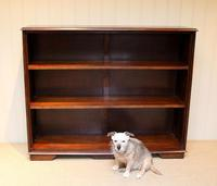 Large Oak Open Bookcase (4 of 9)