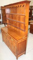 1900's Oak Dresser with Display Rack Good Fruitwood Colour (5 of 5)
