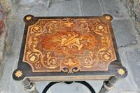 Superb French Inlaid Side Table/Work Table (3 of 18)