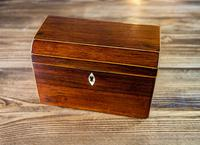 Rosewood Tea Caddy 1840 (4 of 8)