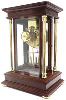 Howard Miller Signature Series Mantel Clock visible pendulum 4 Glass Mantle Clock (3 of 12)