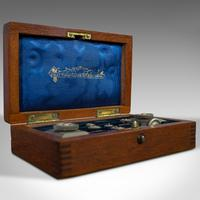 Antique Trammel Point Set, Draughtsman's Instruments, Stanley, Victorian, C.1900 (2 of 9)