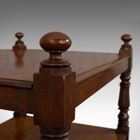 Antique Whatnot, English, Mahogany, Four Tier, Display Stand, Victorian c.1850 (8 of 12)