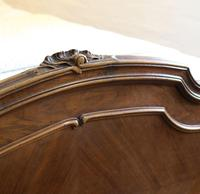 Beaded Louis XV Walnut Antique Bed (5 of 7)
