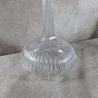 Victorian Bulbous Star Base Cut Glass Decanter (4 of 6)