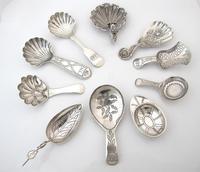 Rare George III Flower Bowl Silver Caddy Spoon Ledsom Vale & Wheeler Birmingham 1830 S2213 (4 of 4)