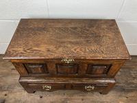 18th Century Style Welsh Oak Coffer Bach C.1930 (M-665) (9 of 11)