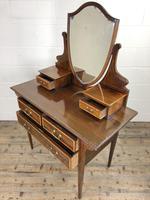 Edwardian Inlaid Mahogany Dressing Table (6 of 10)
