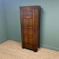 Quality Oak Antique Hall Cupboard / Wardrobe (7 of 7)