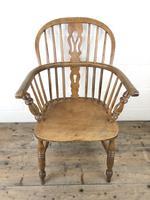 Antique Beech & Elm Windsor Armchair (2 of 7)