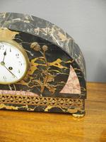 Art Deco Marble Clock Garniture (5 of 13)
