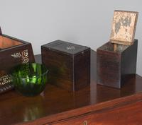 George IV Rosewood & Mother of Pearl Tea Caddy (9 of 11)