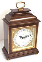 Perfect Vintage Mantel Clock Caddy Top Bracket Clock by Elliott of London Retailed by Malory of Bath (6 of 12)
