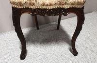 Set of  Victorian Walnut Dining Chairs (6 of 8)