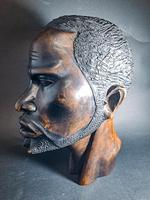 Carved African Head (2 of 7)