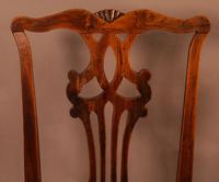 Set of 6 Country Chippendale Dining Chairs (8 of 11)