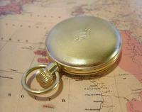Vintage Pocket Watch 1970s Swiss County 17 Jewel 12ct Gold Plated FWO (9 of 12)