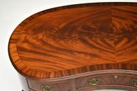 Antique Queen Anne Style Mahogany Kidney Desk / Dressing Table (3 of 11)