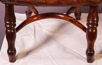 A Near Pair of Childs Yew Wood Windsor chairs (4 of 14)