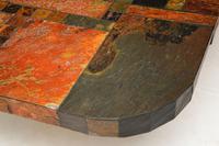 Large Swedish Stone Vintage Coffee Table (7 of 11)