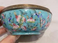 Antique Chinese Large Canton Enamel Box c.1900 - Late Qing (5 of 7)